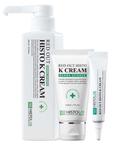 Крем после процедур с витамином К Red Out Histo K Cream 12/50/500 мл