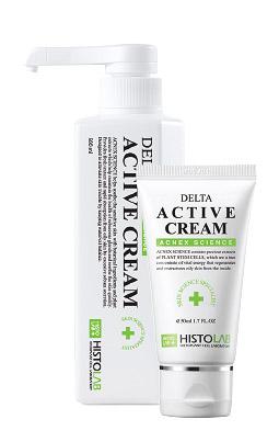 Крем антибактериальный для проблемной кожи Delta Active Cream 80/500 мл