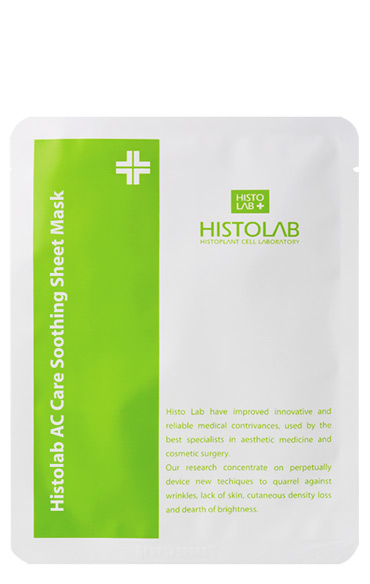 Тканевая маска успокаивающая анти акне Histolab Ac Care Soothing Sheet Mask 30 г