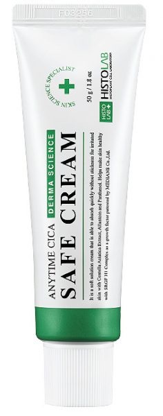 """<span style=""""color: red; font-weight: bold;"""">Новинка!</span> Крем успокаивающий ANYTIME CICA SAFE CREAM 50/250г"""